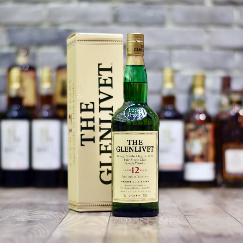 Glenlivet 12 Year Old Jap. - Older Bottling