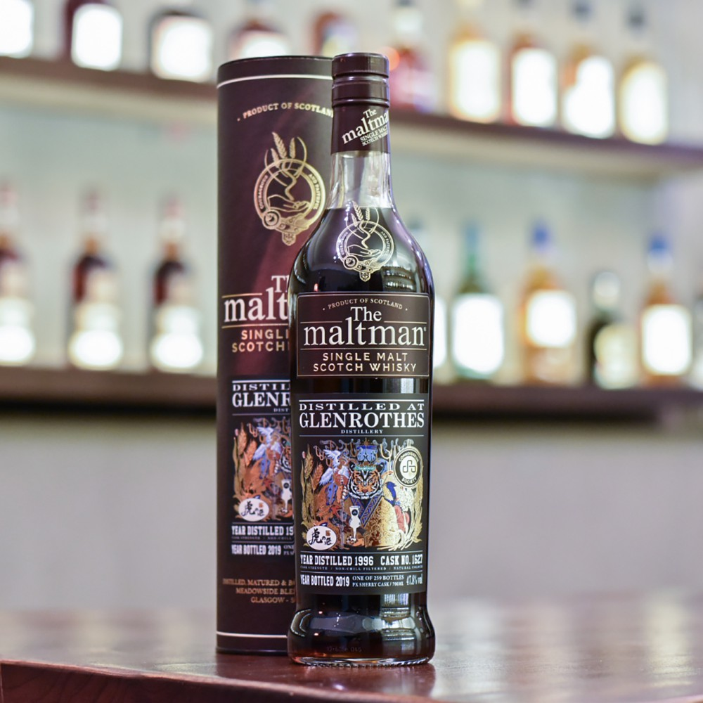 The Maltman - Glenrothes 22 Year Old 1996 Tiger's Finest Selection Cask 1627