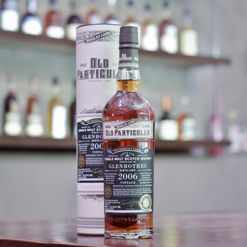 Old Particular - Glenrothes 12 Year Old 2006 for UK Emporiums Cask 13055