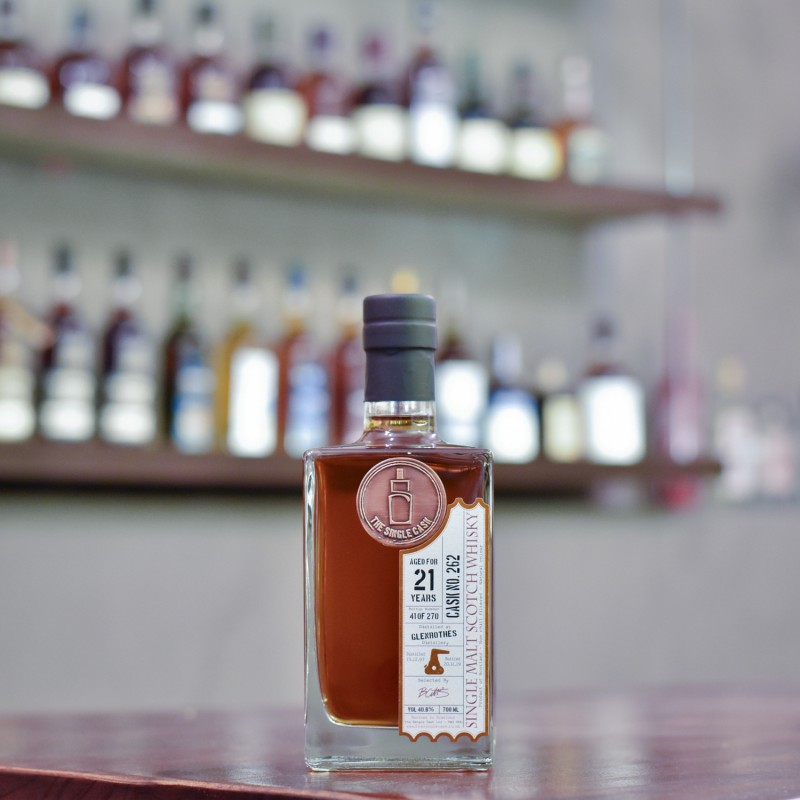 The Single Cask - Glenrothes 21 Year Old 1997 Cask 262