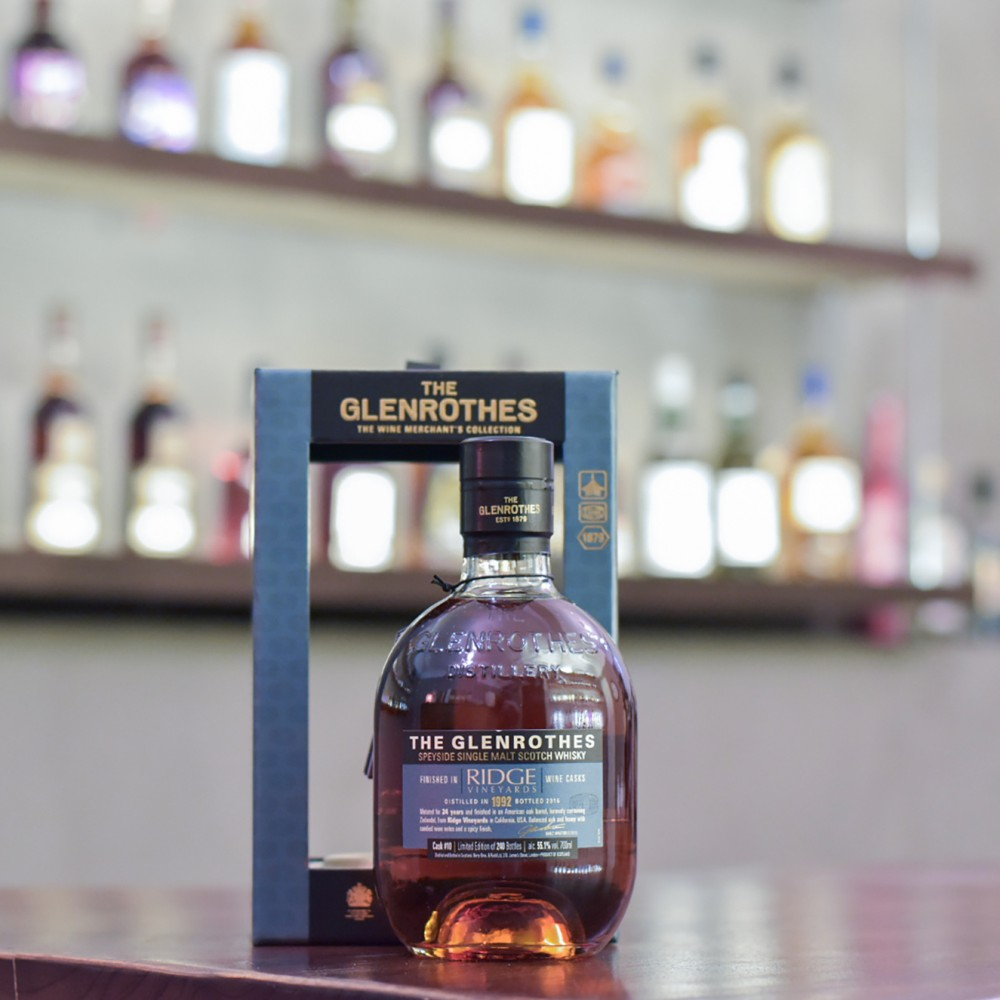 Glenrothes 24 Year Old 1992 Red Wine Cask Finish Cask 10
