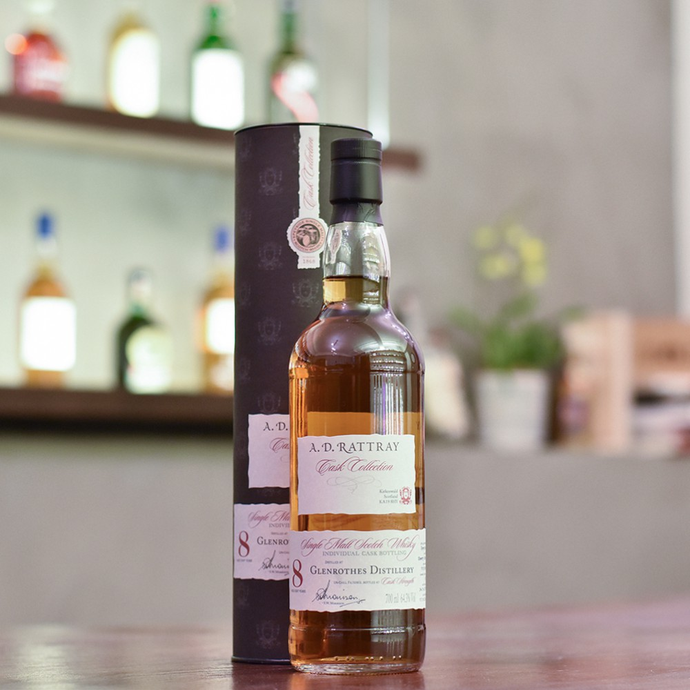 A.D. Rattray - Glenrothes 8 Year Old 2007 Cask 70010242