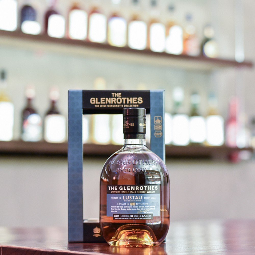 Glenrothes 24 Year Old 1992 Lustau Sherry Cask Finish Cask 01