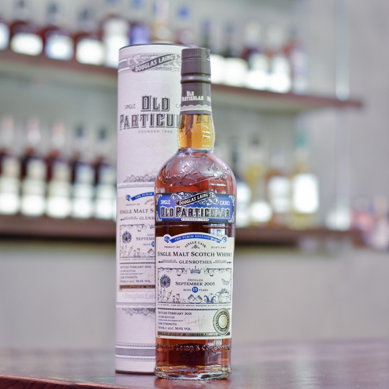Old Particular - Glenrothes 15 Year Old 2005 Purim Edition 2021