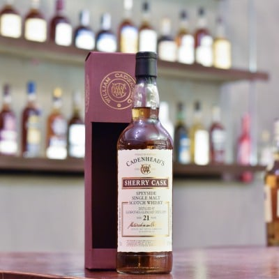 Cadenhead - Glenrothes 21 Year Old 1997 Sherry Cask