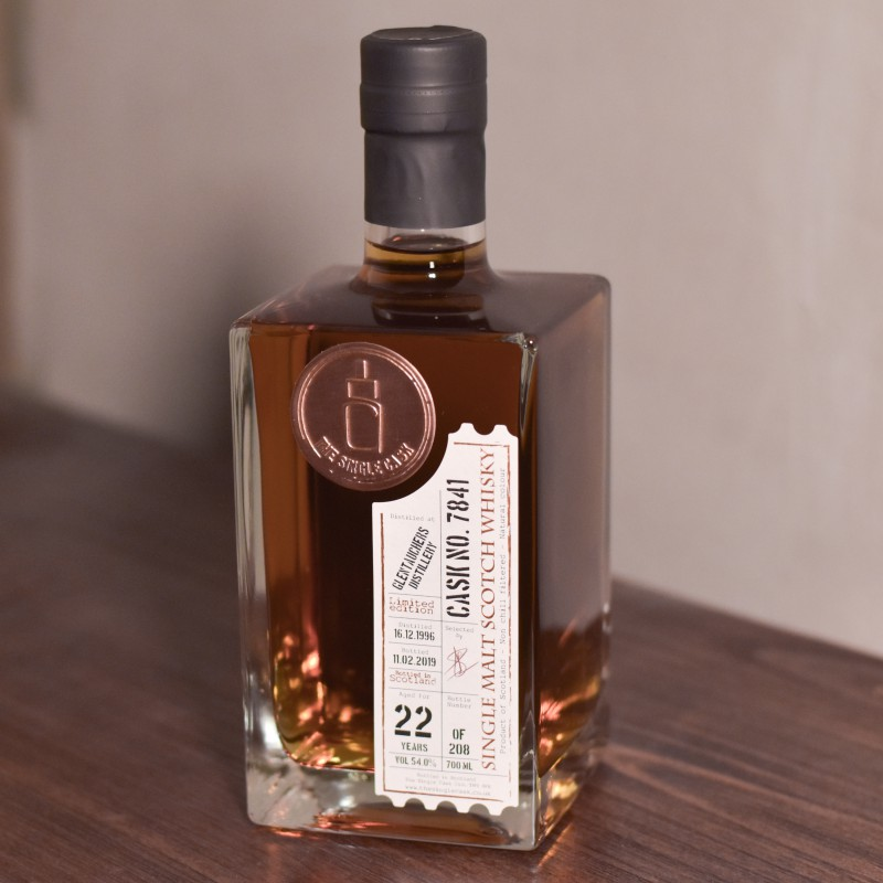 The Single Cask - Glentauchers 22 Year Old 1996 Cask 7841