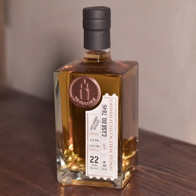 The Single Cask - Glentauchers 22 Year Old 1996 Cask 7846