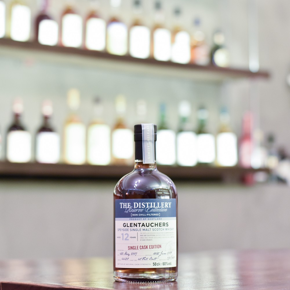 Glentauchers 12 Year Old 2007 The Distillery Reserve Collection Cask 44490