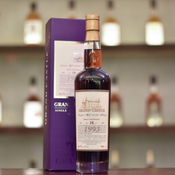 Grand Castle 18 Year Old 1993 Cask 3598