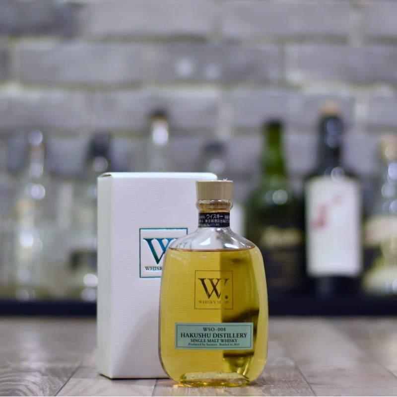 Hakushu 2015 Whisky Shop W. WSO-008
