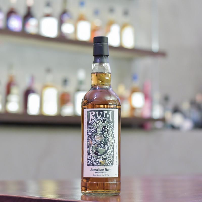 Hampden 18 Year Old 2000 Jamaican Rum for Bar finch KARIYA