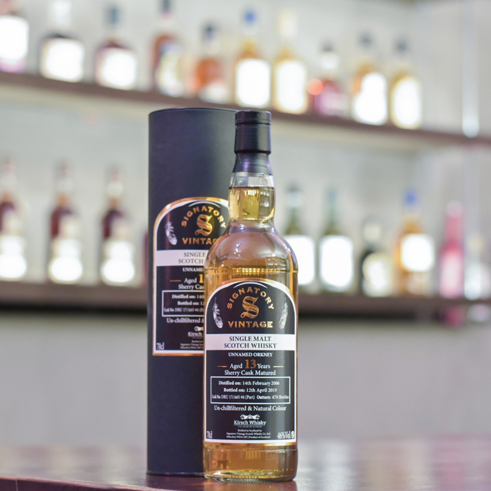 Signatory - Unnamed Orkney 13 Year Old 2006 Sherry Cask DRU 17A65 #6