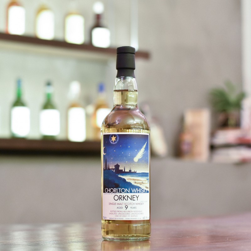 Chorlton Whisky - Orkney (Highland Park) 9 Year Old