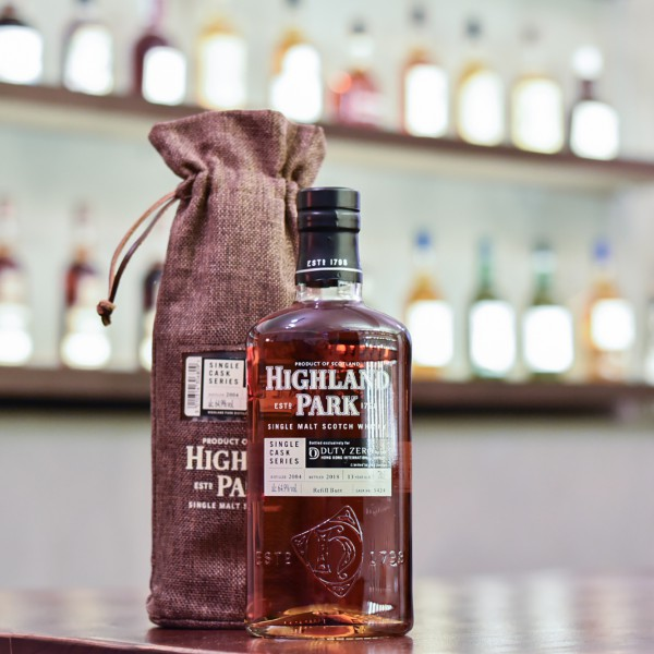 Highland Park 13 Year Old 2004 for Duty Zero Cask 5424