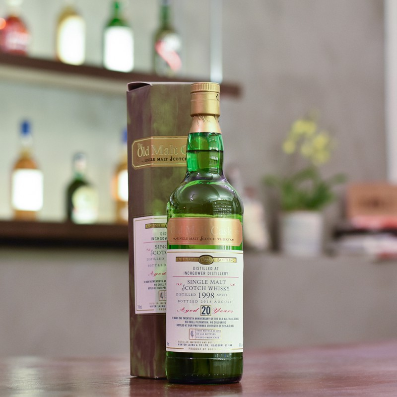 The Old Malt Cask - Inchgower 20 Year Old 1998 20th Anniversary Cask HL17086