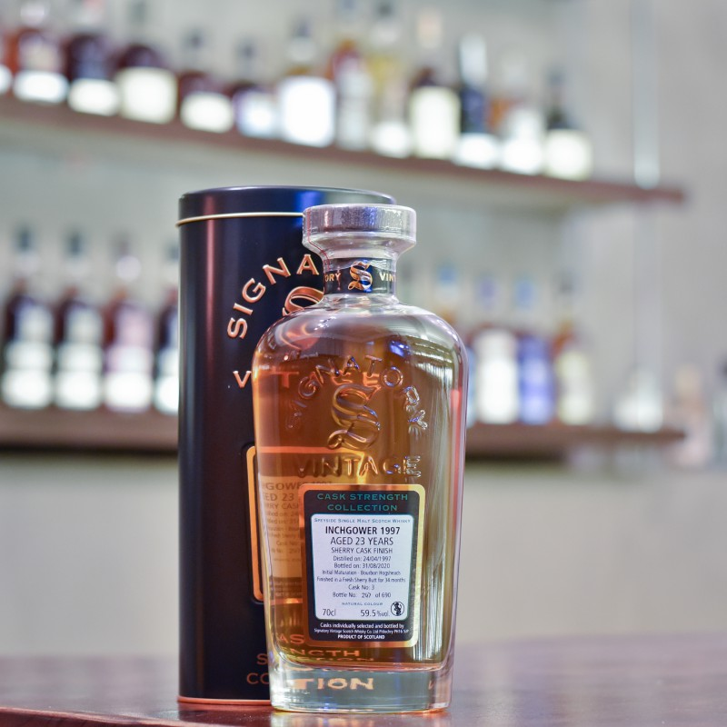 Signatory - Inchgower 23 Year Old 1997 Cask 3