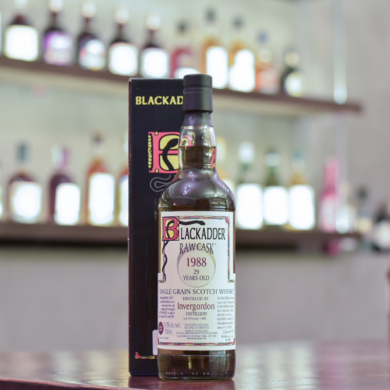 Blackadder - Invergordon 29 Year Old 1988 Raw Cask 8102