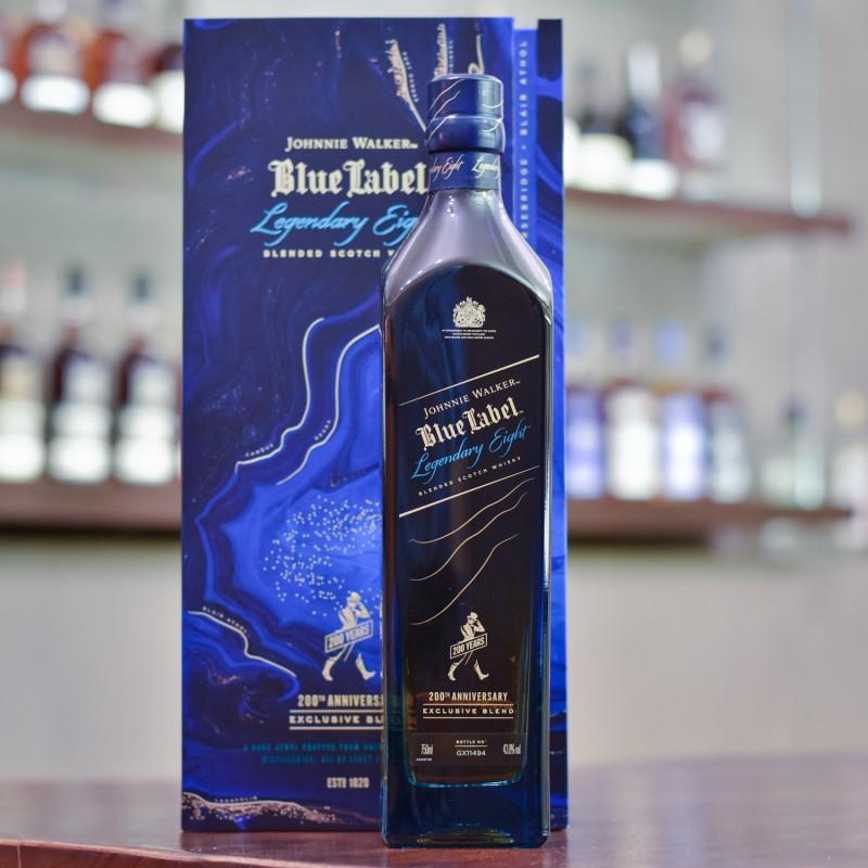 Johnnie Walker Blue Label Legendary Eight 200th Anniversary Exclusive Blend
