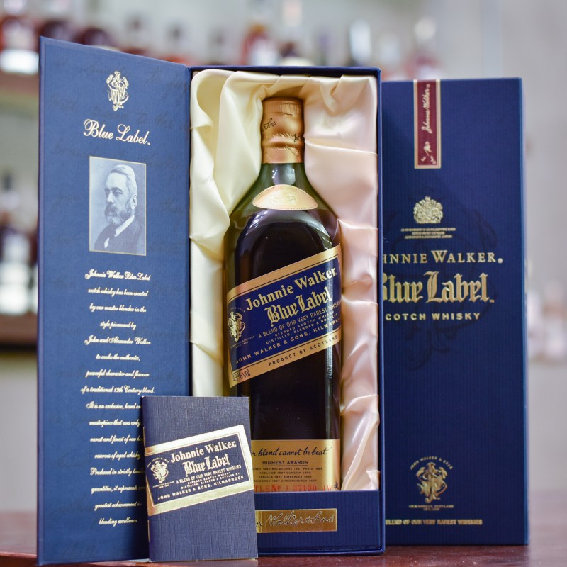 Johnnie Walker Blue Label - 1990s Bottling