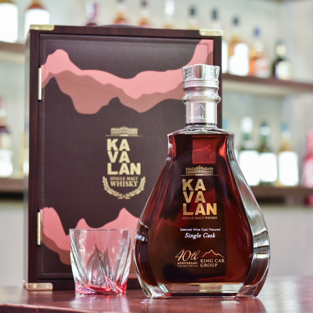 Kavalan Selected Wine Cask Matured for King Car Group 40th Anniversary