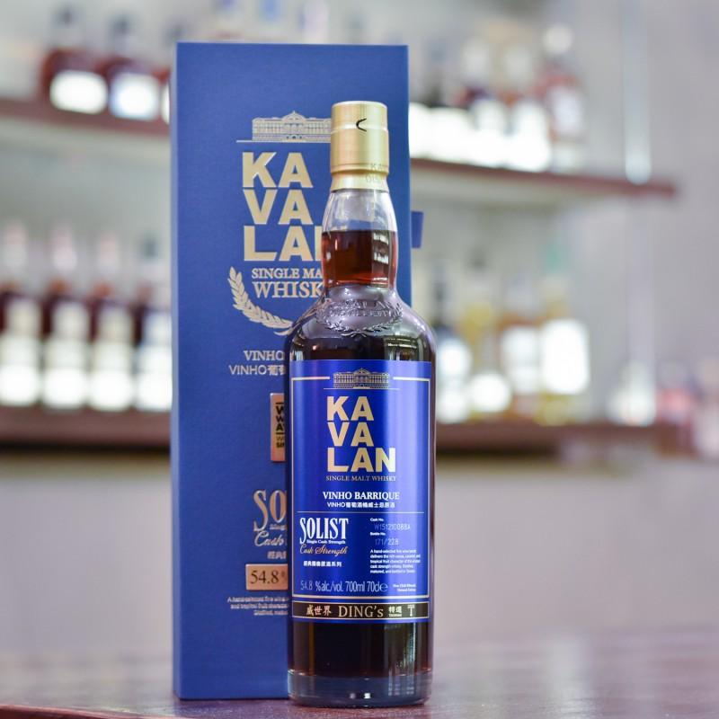 Kavalan Solist Vinho Barrique Taiwan Exclusive Cask W151210088A