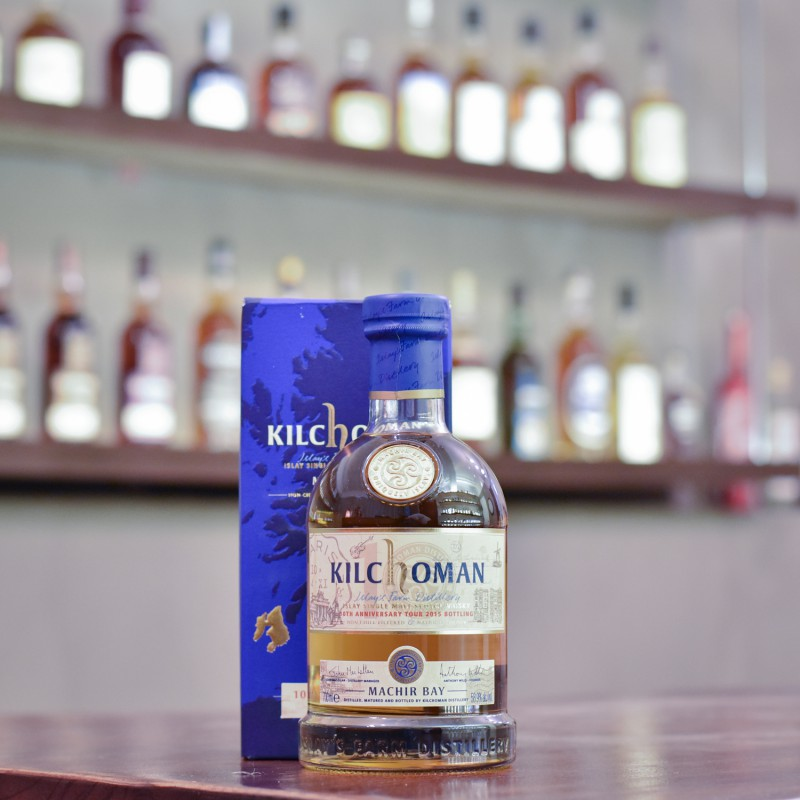 Kilchoman Machir Bay Cask Strength 2015