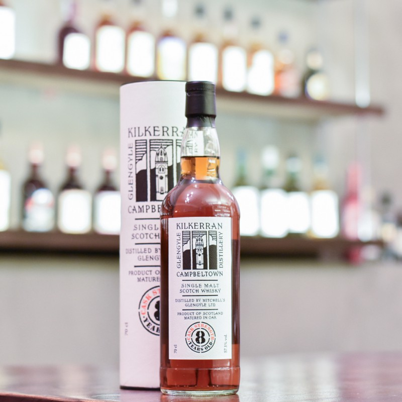 Kilkerran 8 Year Old Cask Strength Recharred Sherry Cask