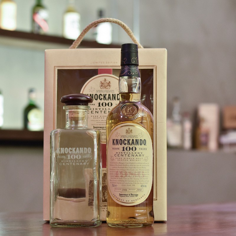 Knockando 12 Year Old 1986 Distillery Centenary Gift Set