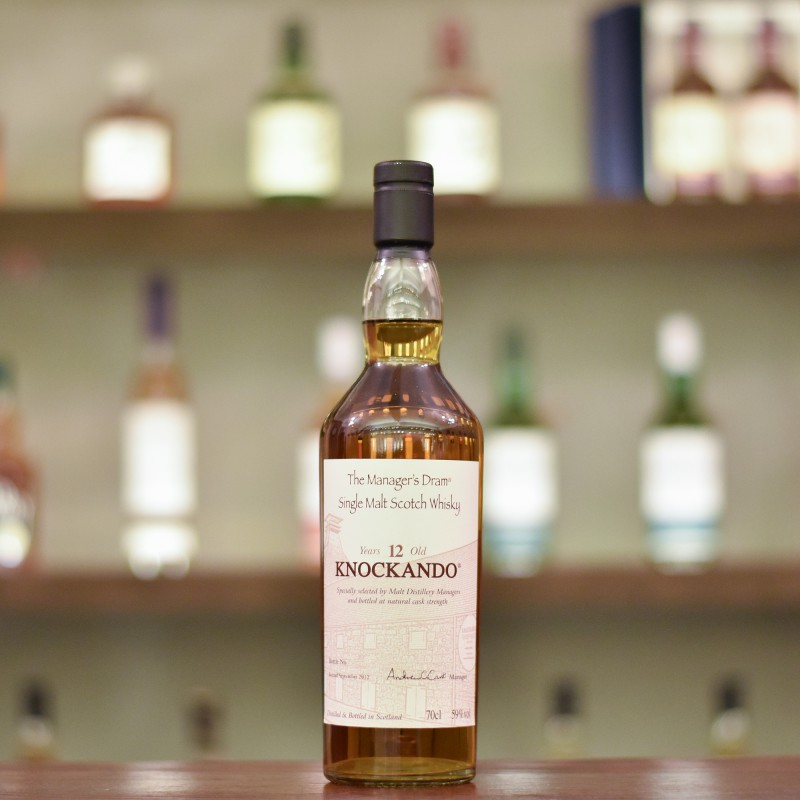 Manager's Dram - Knockando 12 Year Old