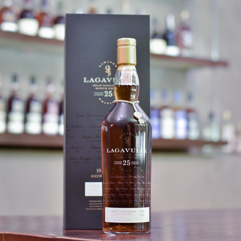 Lagavulin 25 Year Old 200 Years Anniversary Limited Edition