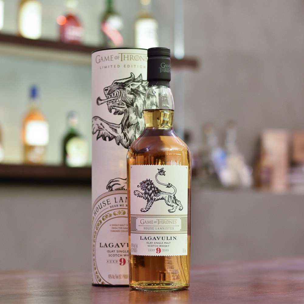 Lagavulin 9 Year Old - Game Of Thrones House Lannister