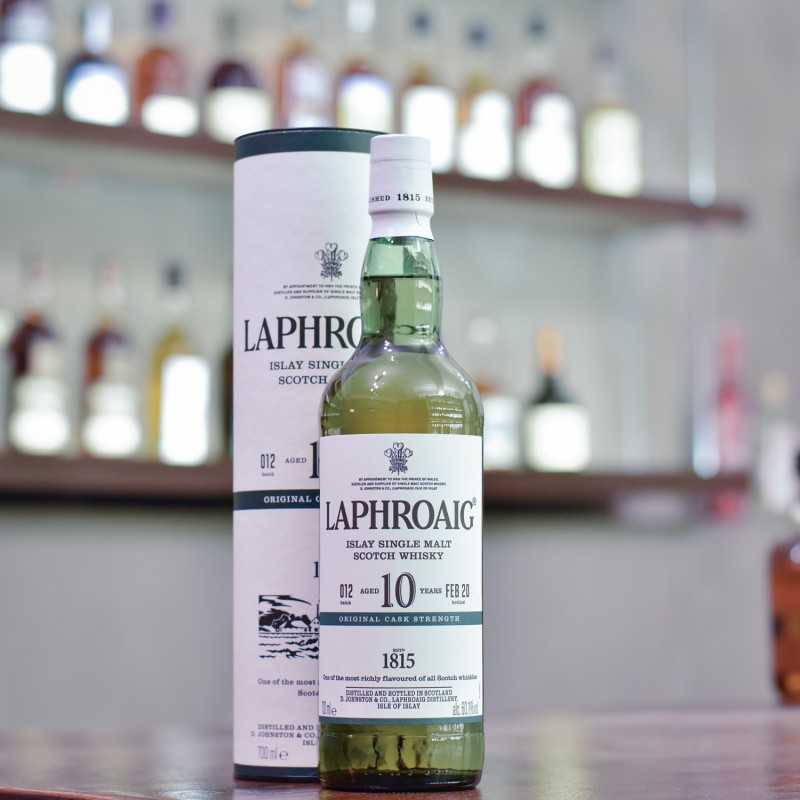 Laphroaig 10 Year Old Cask Strength Batch 012