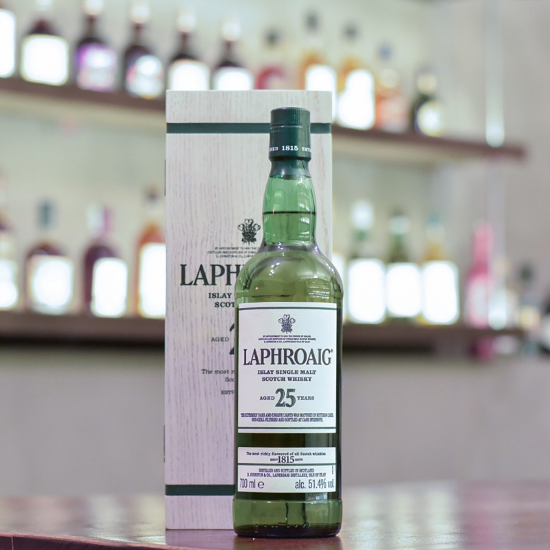 Laphroaig 25 Year Old Cask Strength 2019 Release