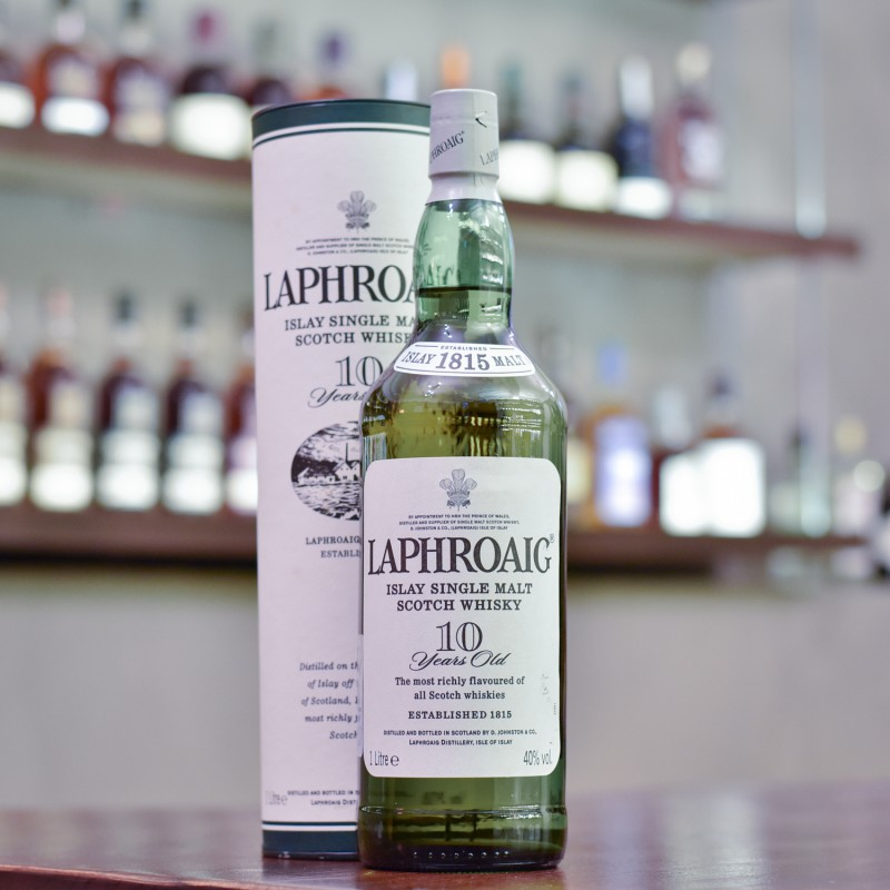 Laphroaig 10 Year Old - Older Bottling 1L