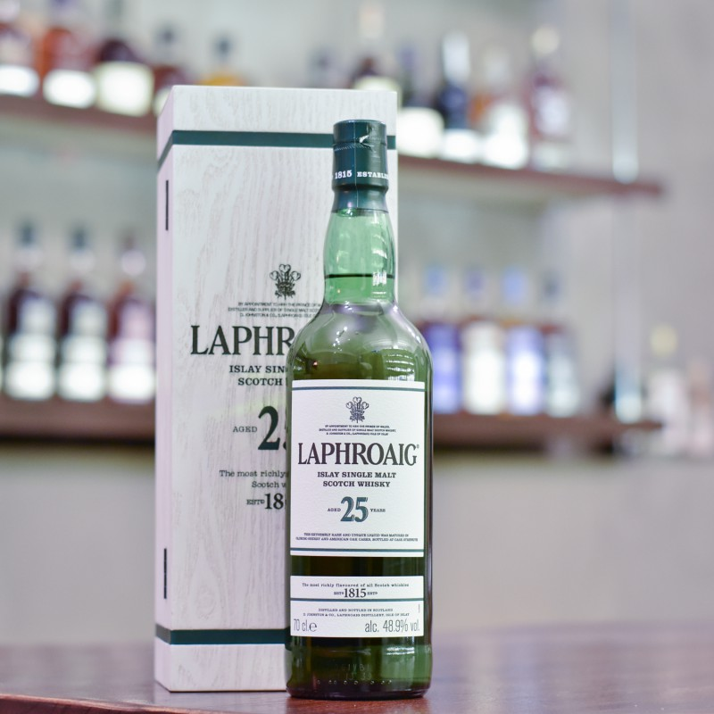 Laphroaig 25 Year Old Cask Strength 2017 Release