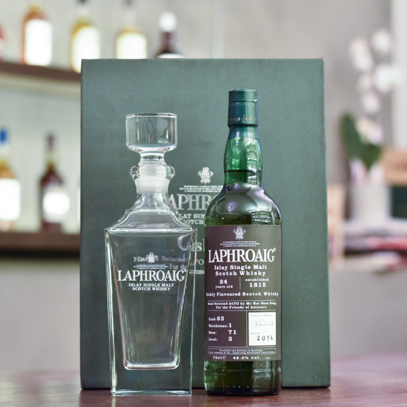 Laphroaig 24 Year Old for Her Soon Seng Cask 63