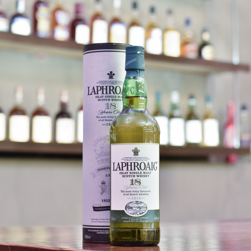 Laphroaig 18 Year Old - Diamond Jubilee Bottling