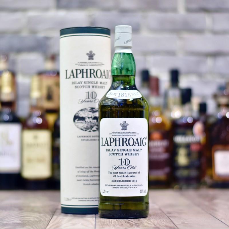 Laphroaig 10 Year Old - Older Bottling 1L