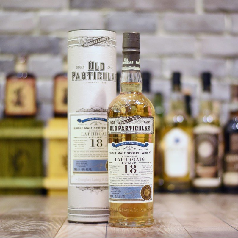 Old Particular - Laphroaig 18 Year Old Cask REF-DL1159
