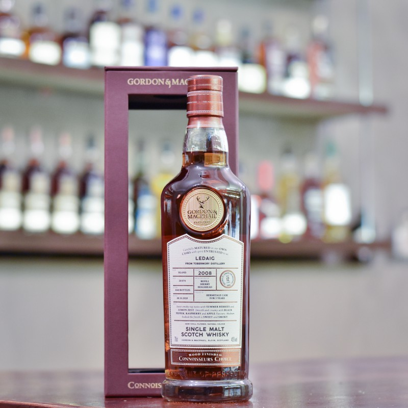 Gordon & MacPhail - Ledaig 12 Year Old 2008 Connoisseurs Choice Hermitage Cask Finish
