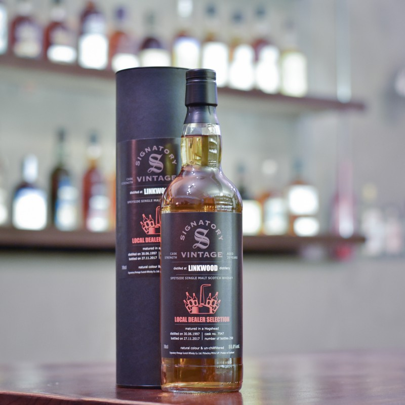 Signatory - Linkwood 20 Year Old 1997 Local Dealer Selection Cask 7547