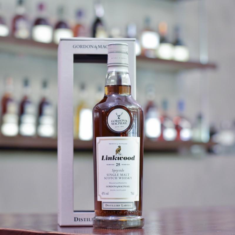 Gordon & MacPhail - Linkwood 25 Year Old Distillery Labels