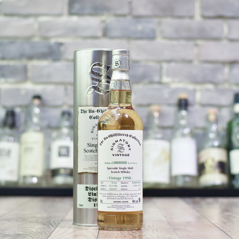Signatory - Linkwood 18 Year Old 1998 Cask 11788 and 11789