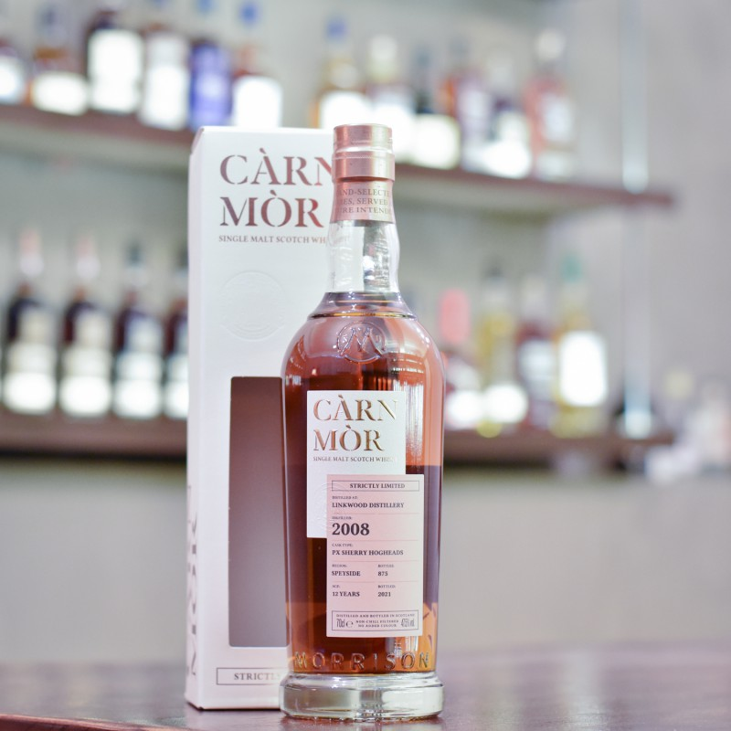 Carn Mor - Linkwood 12 Year Old 2008 Strictly Limited Edition