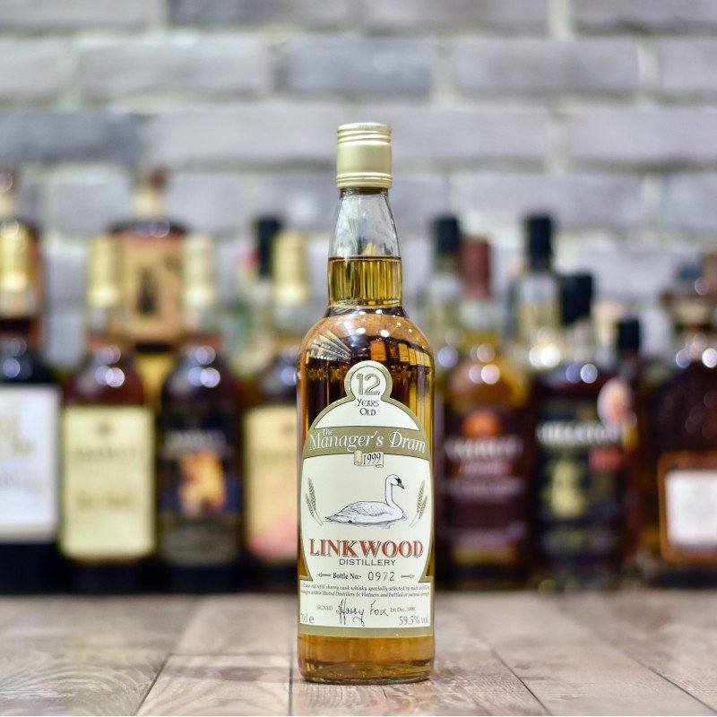 Manager's Dram - Linkwood 12 Year Old
