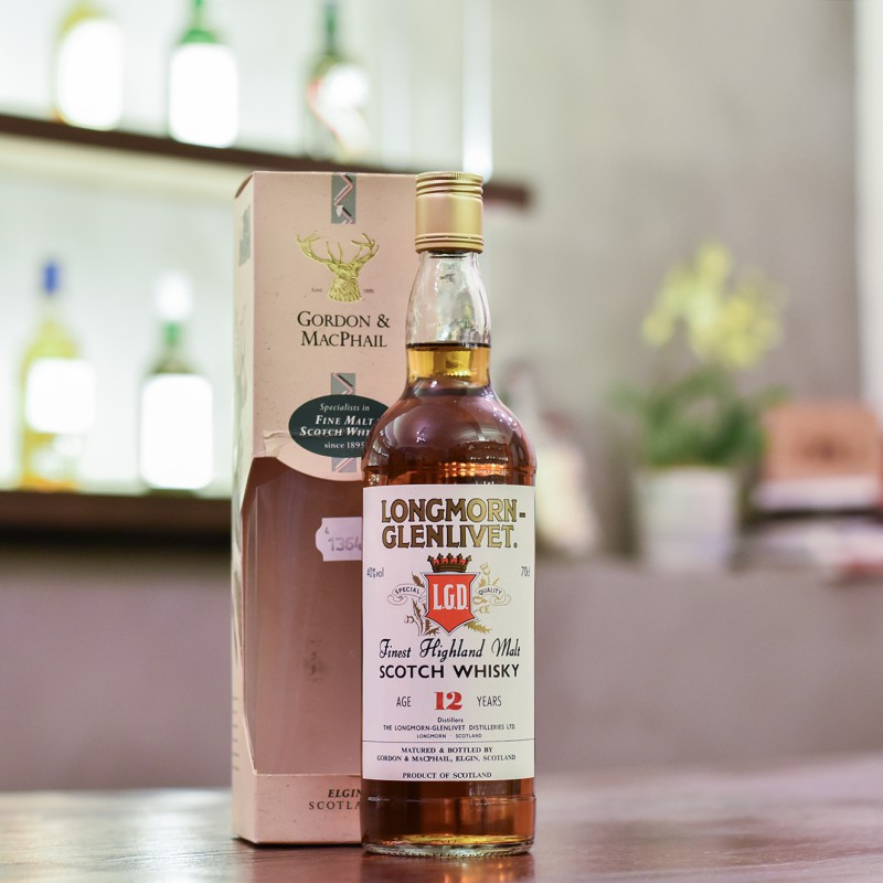 Gordon & MacPhail - Longmorn-Glenlivet 12 Year Old - 1990s Bottling