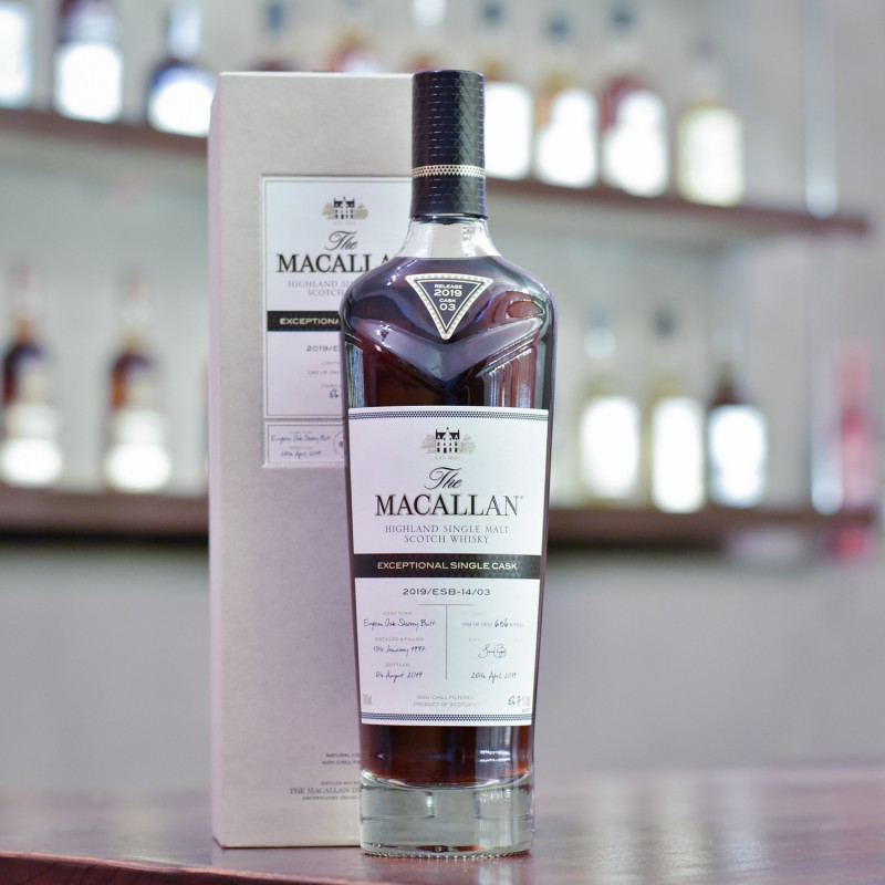 Macallan 22 Year Old 1997 Exceptional Cask 14-03
