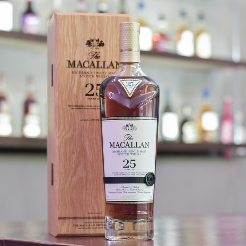 Macallan 25 Year Old Sherry Oak 2019