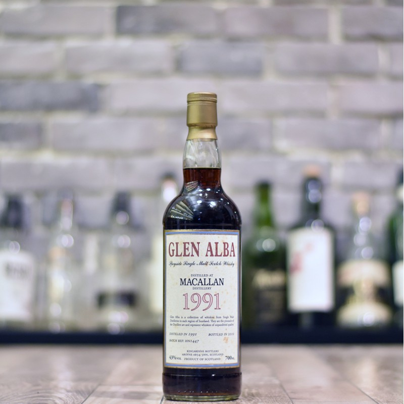 Glen Alba - Macallan 19 Year Old 1991 Batch HNI447