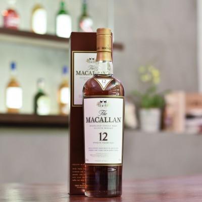 Macallan 12 Year Old Sherry Oak - Older Bottling